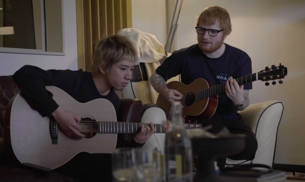 WATCH: ONE OK ROCK Work On Their Track 'Renegades' With Ed Sheeran