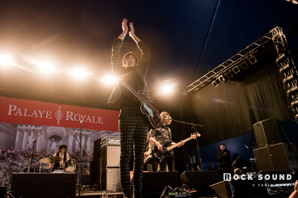 Palaye Royale, Download Festival, June 16 // Photo: Carla Mundy
