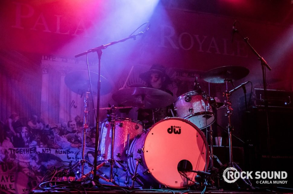 Inside Palaye Royale's Headline Set On The Rock Sound Breakout Stage At Slam Dunk North