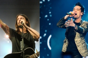 Dave Grohl Once Crashed Panic! At The Disco's Dressing Room, And Inspired Their Pre-Stage Ritual