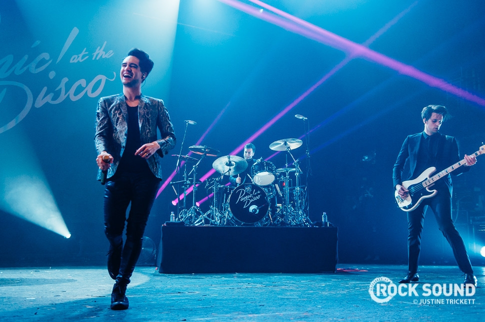 Panic! At The Disco, London Brixton Academy, January 12 // Photo credit: Justine Trickett
