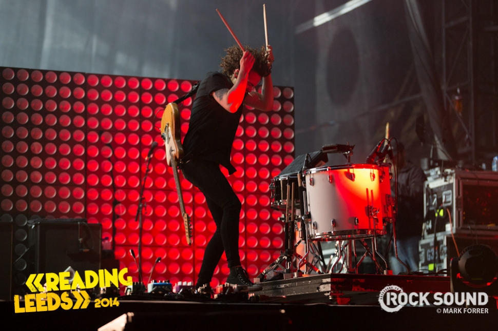 Paramore dominating Leeds Festival. August 23, 2014. Photo credit: Mark Forrer