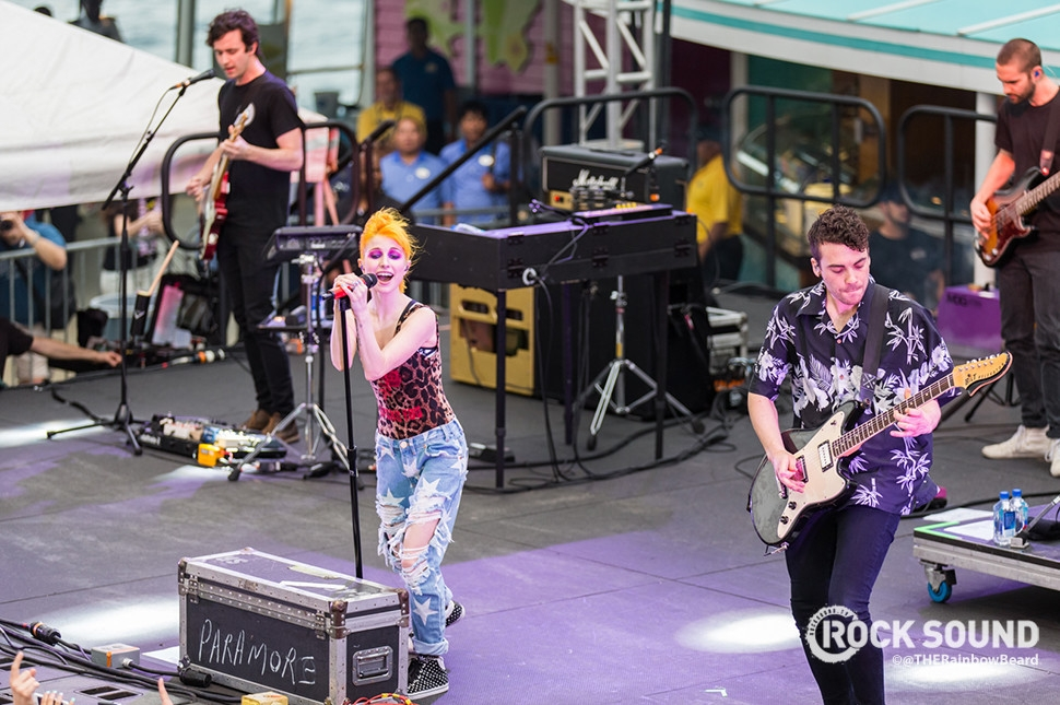 Paramore, Parahoy!, March 2016 // Photo credit: Adam James Reiter / THERainbowBeard