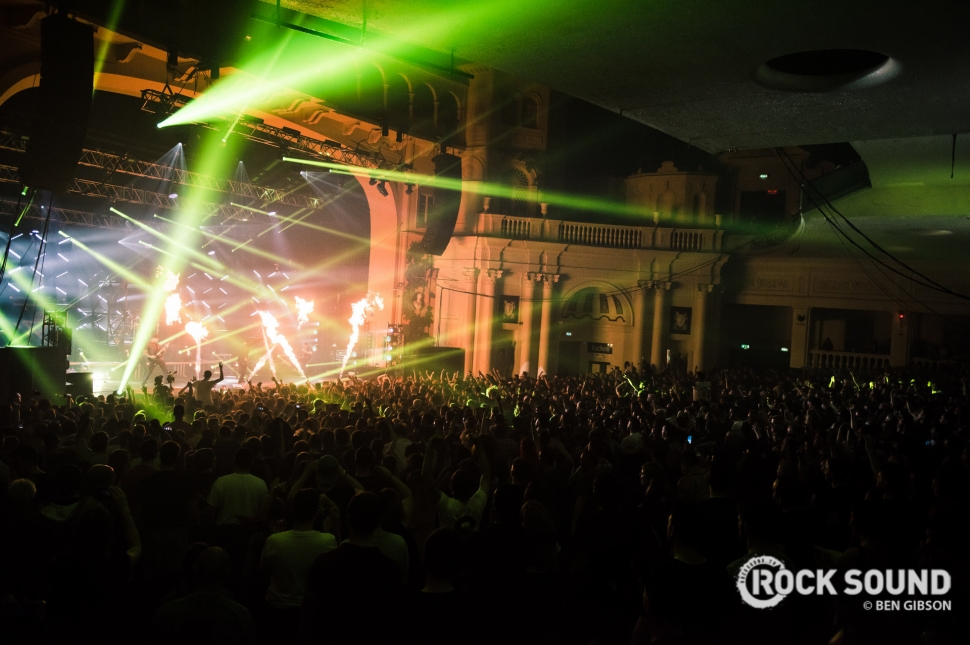 Parkway Drive, London Brixton Academy, April 08 // Photo: Ben Gibson