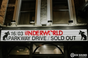 Parkway Drive Play Tiny (& Sweaty) Show At Underworld