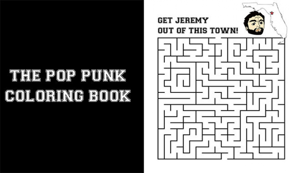 This Pop-Punk Colouring Book Is Everything We Dreamed It Would Be ...