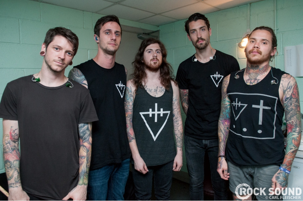 Live & Loud At Ghostfest 2013: The Devil Wears Prada