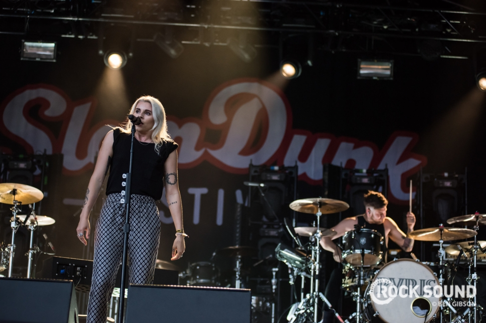 PVRIS, Slam Dunk South, May 27 // Photo: Ben Gibson