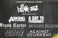Blink-182, ADTR, Asking Alexandria, Against The Current, Moose Blood + More Announce Show