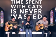 Watch Real Friends Perform In A Cat Arcade