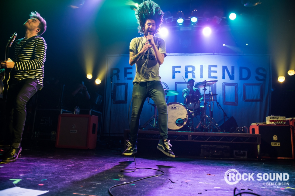 Real Friends, London Electric Ballroom, April 16 // Photo: Ben Gibson