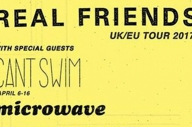 Win Tickets To The Real Friends / Can't Swim / Microwave UK Tour + Microwave Vinyl