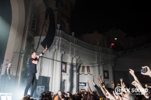 This Is What Rise Against + Sleeping With Sirens' BIG London Show Looked Like