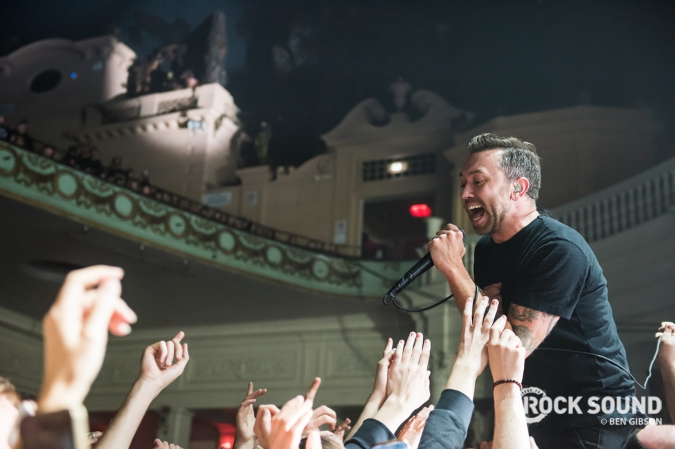 Rise Against, London Brixton Academy, November 05 // Photo: Ben Gibson