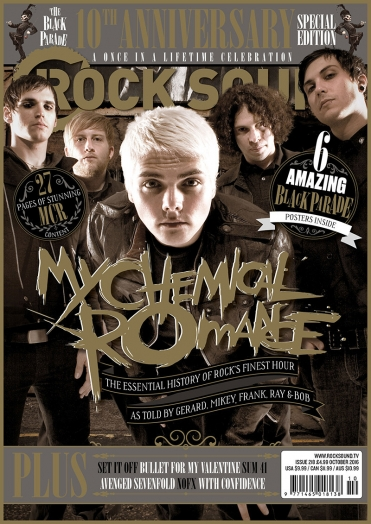 Rocksound - Issue 218 - October 2016