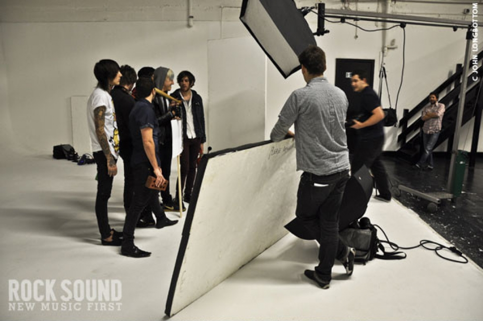 Behind The Scenes At The Rock Sound Riot