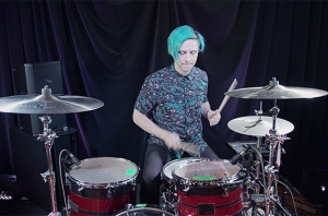 Watch Ryan Seaman Walk Through How To Play IDKHOW's 'Modern Day Cain' On Drums