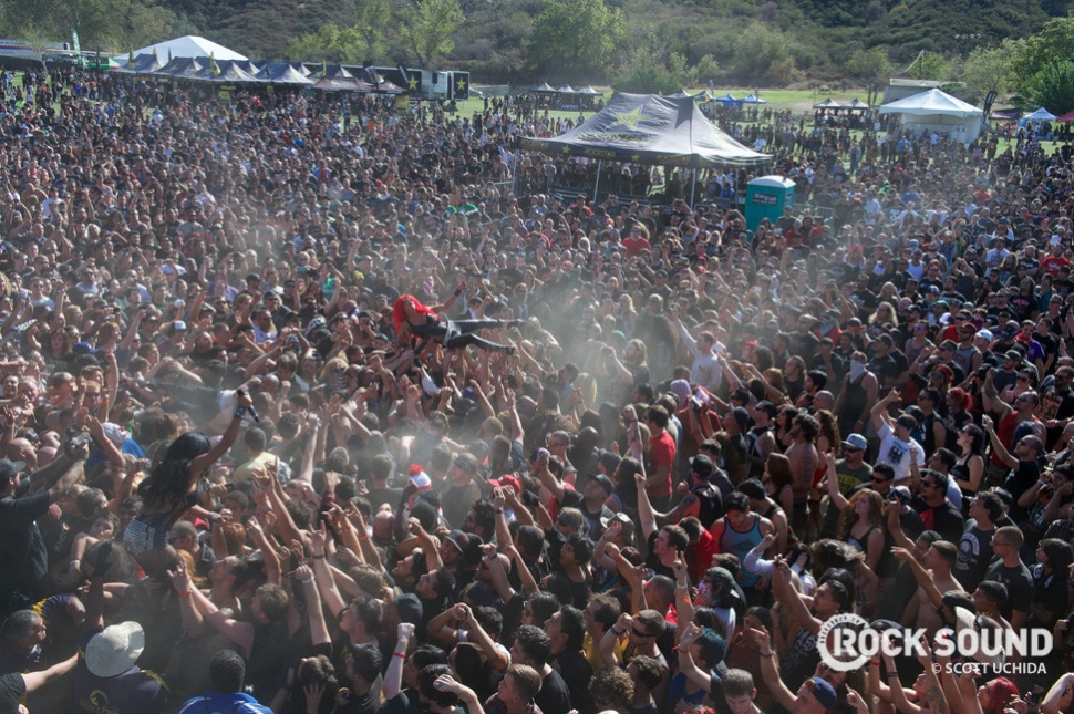 Here's another look at the Knotfest madness.
