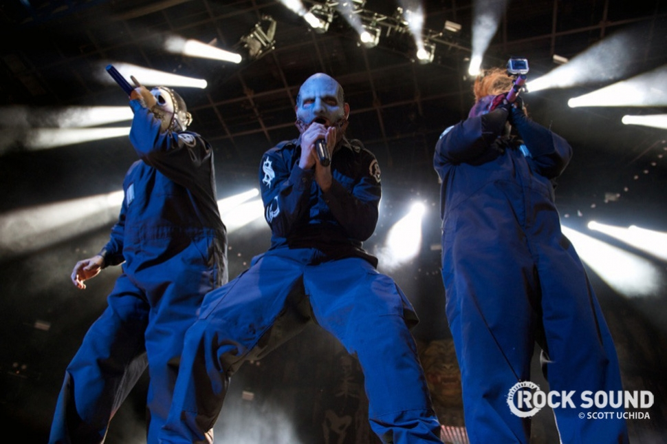 Knotfest happened in October. Just in time for Slipknot to hit the cover of our mag.