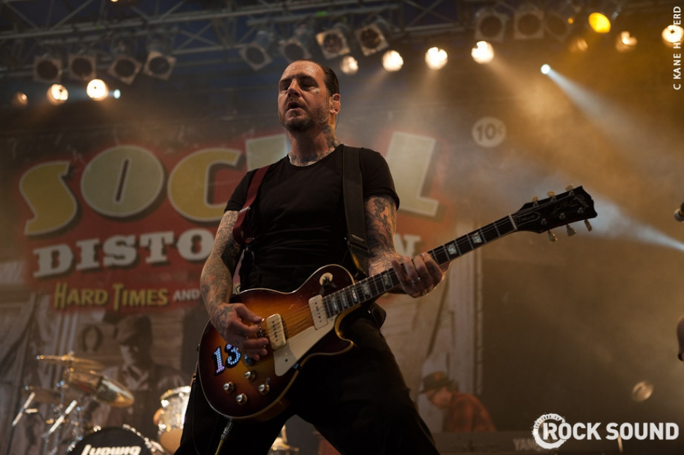 Live And Loud At Soundwave 2011: Social Distortion