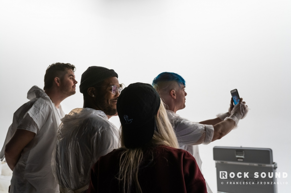 Behind The Scenes: Set It Off's 'Dancing With The Devil' video shoot // Photo credit: Francesca Fronzaglio
