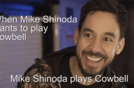 Watch Mike Shinoda Play Cowbell For Don Broco In New Video