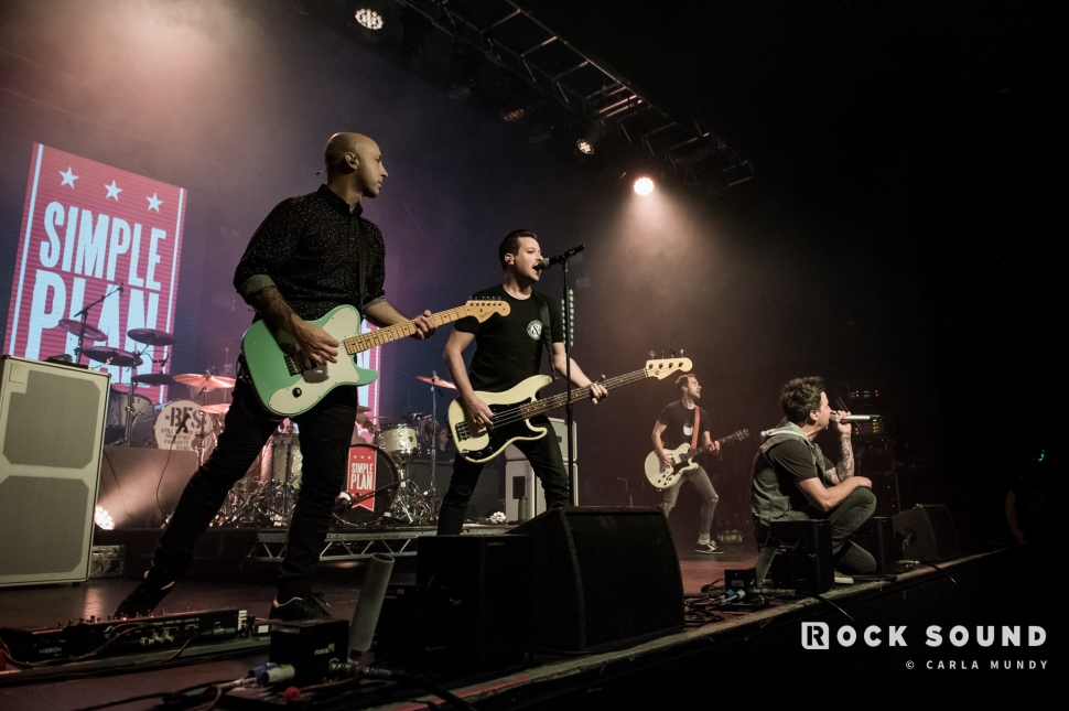 Simple Plan, Birmingham, February 12 // Photo: Carla Mundy