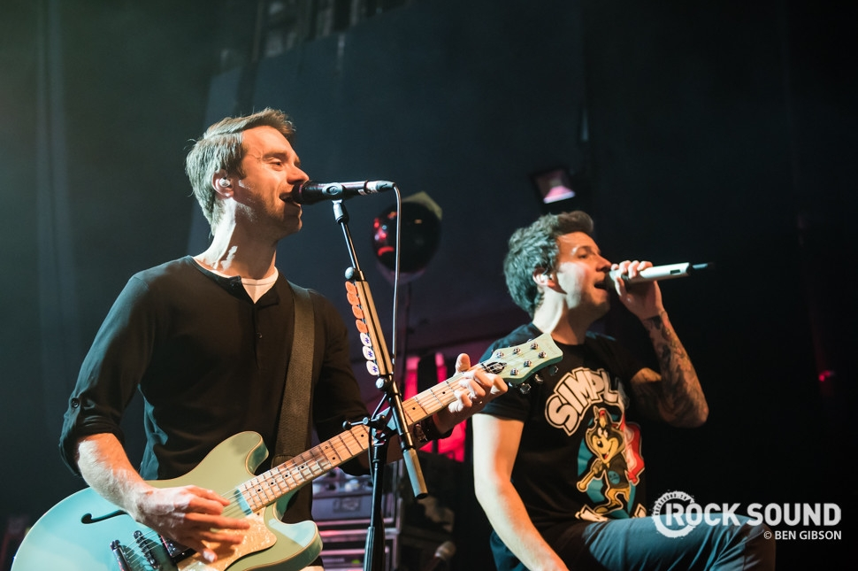 Simple Plan, London Forum, March 24 // Photo credit: Ben Gibson