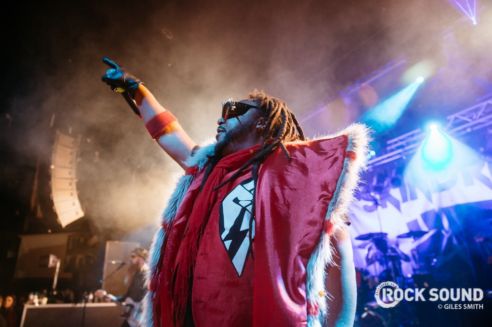 Skindred, Hit The Deck Nottingham, April 26 // Photo credit: Giles Smith