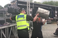 This Policeman Joining In With A Slipknot Covers Band Is The Best Thing You'll See All Day