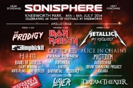 Sonisphere 2014 Stage Times: Friday