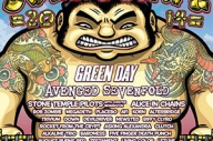 Green Day And Avenged Sevenfold To Headline Soundwave 2014