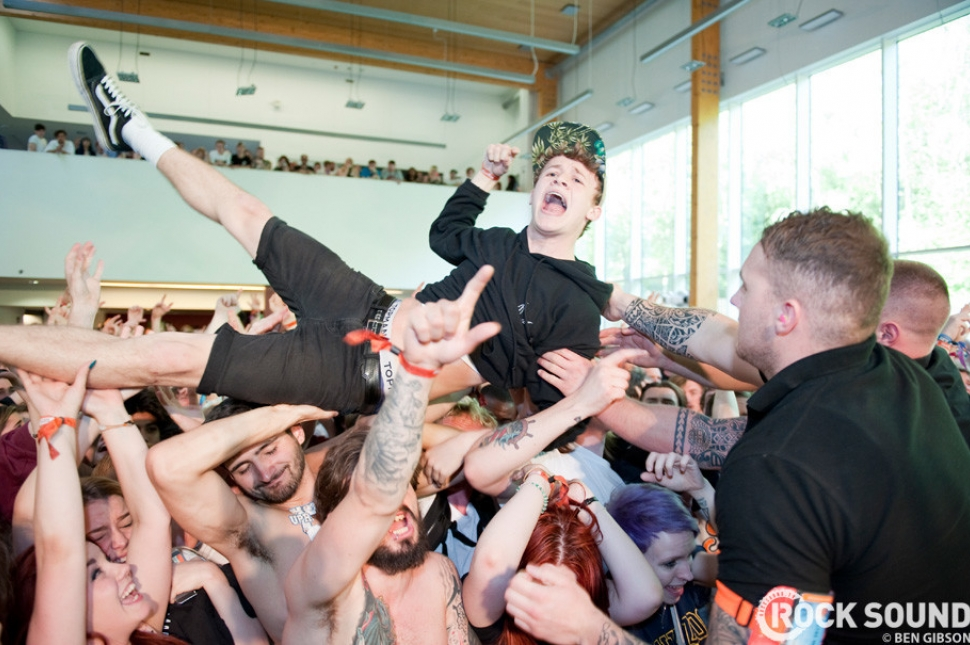 This guy had a WHALE of a time at Slam Dunk South. But who was he watching?