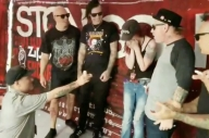 Someone Proposed At A Stone Sour Meet + Greet