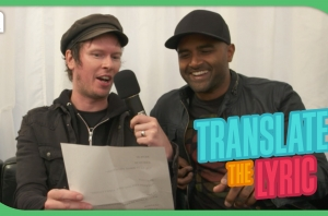 Sum 41's Cone & Dave Play 'Translate The Lyric'