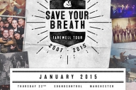 As It Is + Cardinals Join Save Your Breath's Farewell Tour