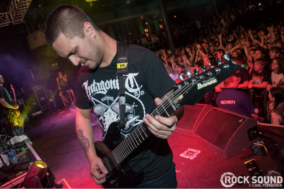 Live & Loud At Ghostfest 2013: Thy Art Is Murder