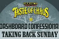 The Line-Up For Taste Of Chaos Festival Is Complete
