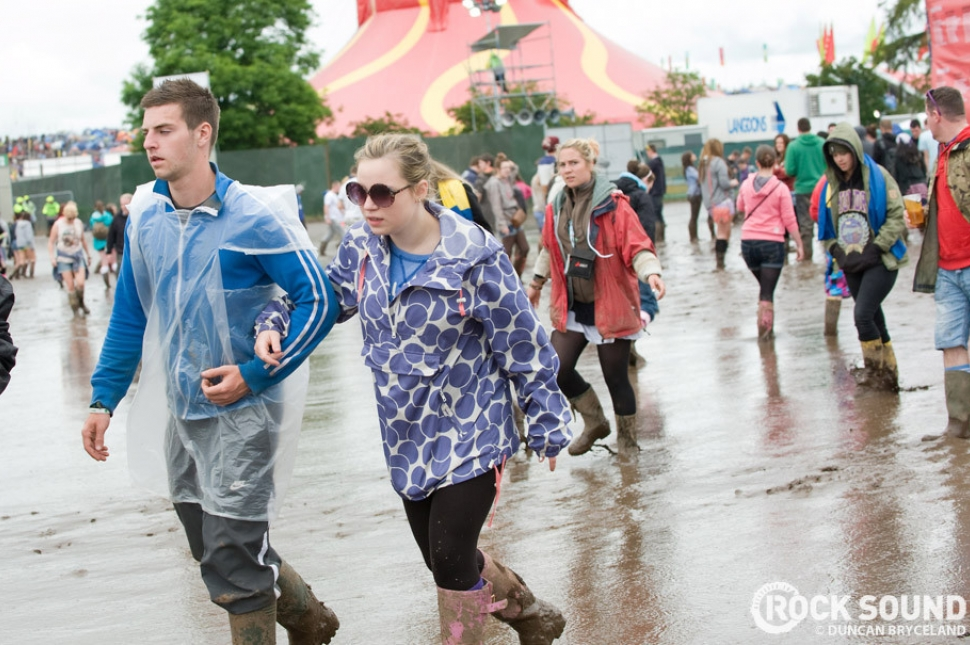 T In The Park 2012: The Mud Diaries