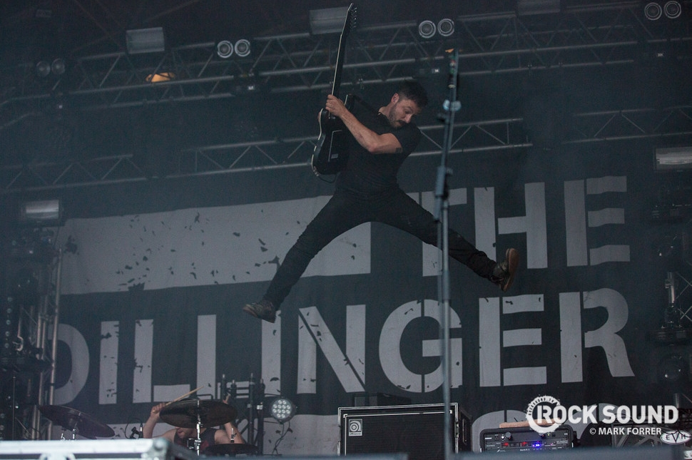 The Dillinger Escape Plan, Hevy Festival, August 14 // Photo credit: Mark Forrer