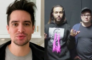 Watch Brendon Urie & Fall Out Boy Send Video Messages To Teen Hero