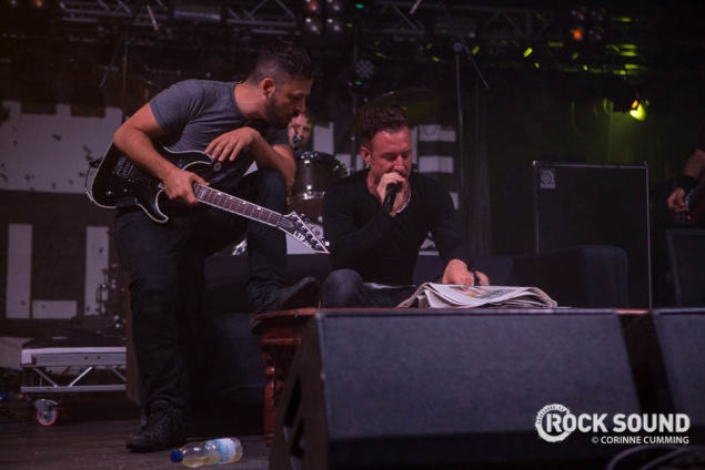 Tables, Sofas + A Newspaper - The Dillinger Escape Plan's Reading Festival Set Was A Strange One…