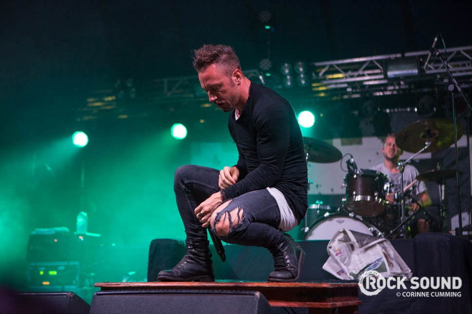 The Dillinger Escape Plan, Reading Festival 2016, August 27 // Photo credit: Corinne Cumming