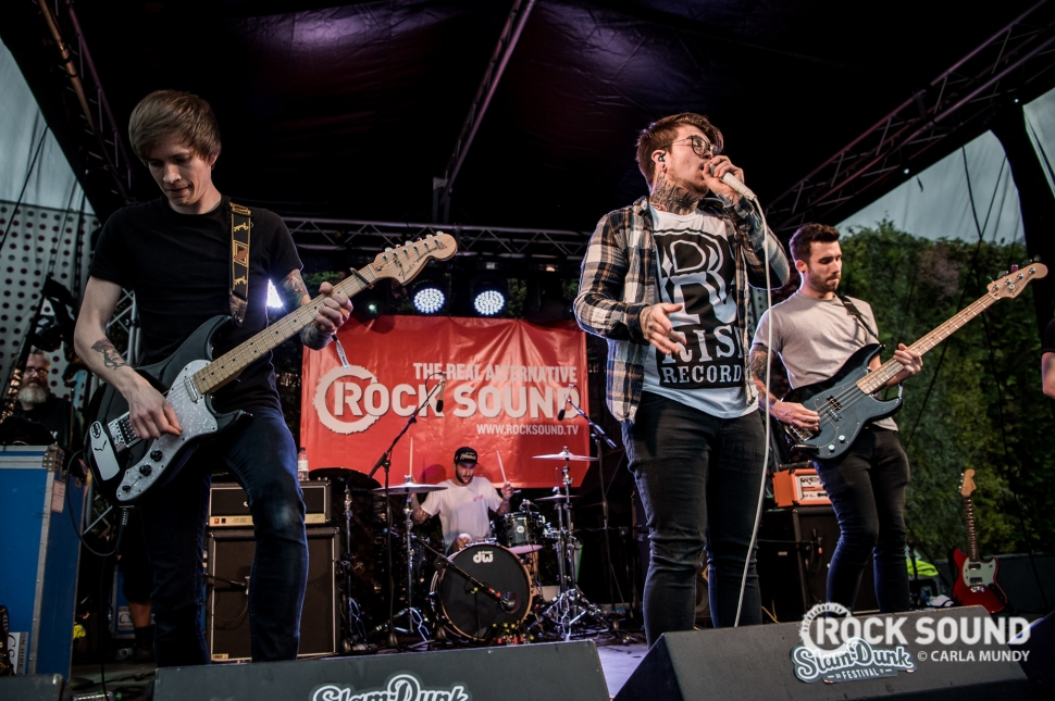 The Gospel Youth, Slam Dunk Midlands 2017, May 27 // Photo: Carla Mundy