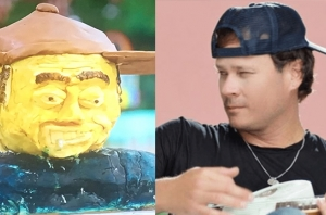 Someone Made A Tom DeLonge Cake On 'Bake Off' And This Is His Reaction