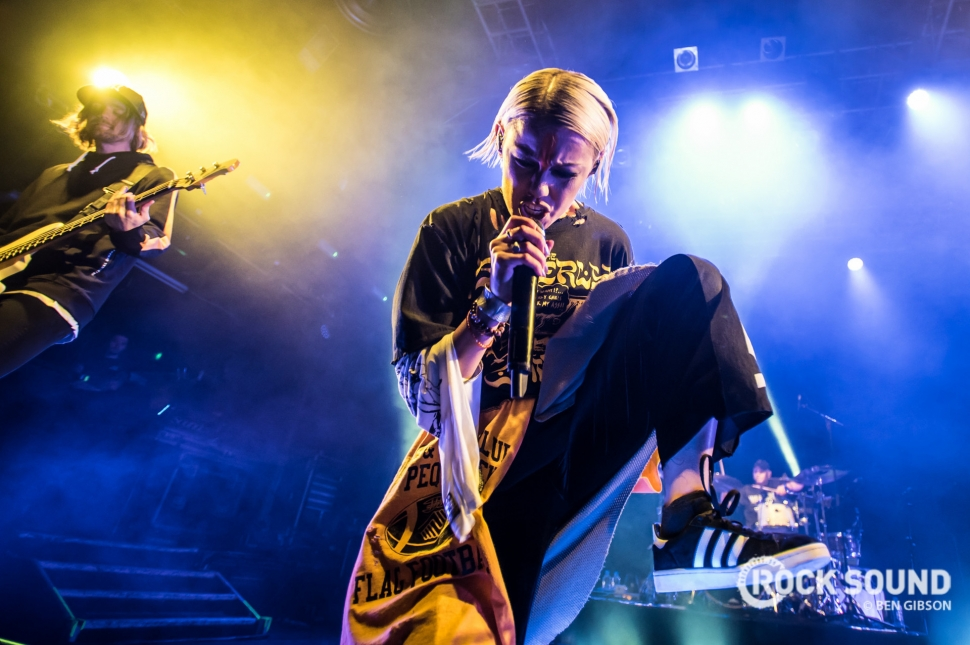 Tonight Alive, London Koko, March 09, 2018 // Photo credit: Ben Gibson