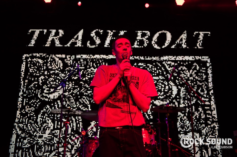 Trash Boat, Slam Dunk South, May 30 2016 // Photo credit: Ben Gibson