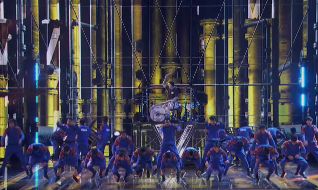 WATCH: Travis Barker Joined A Dance Troupe At The America's Got Talent Grand Finale