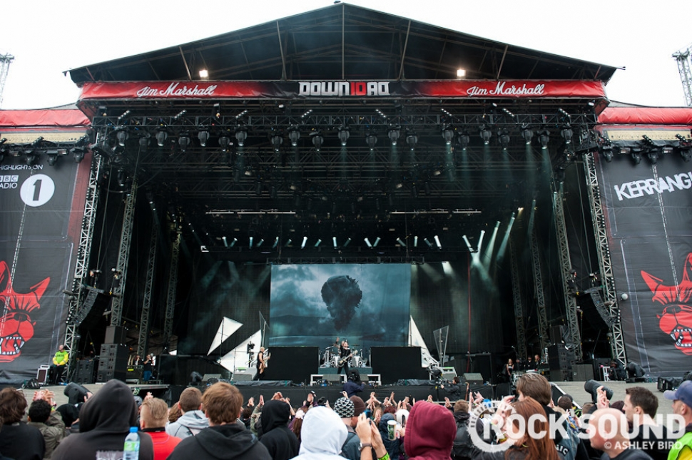 The Download Archive: Trivium Slay The Main Stage In 2012