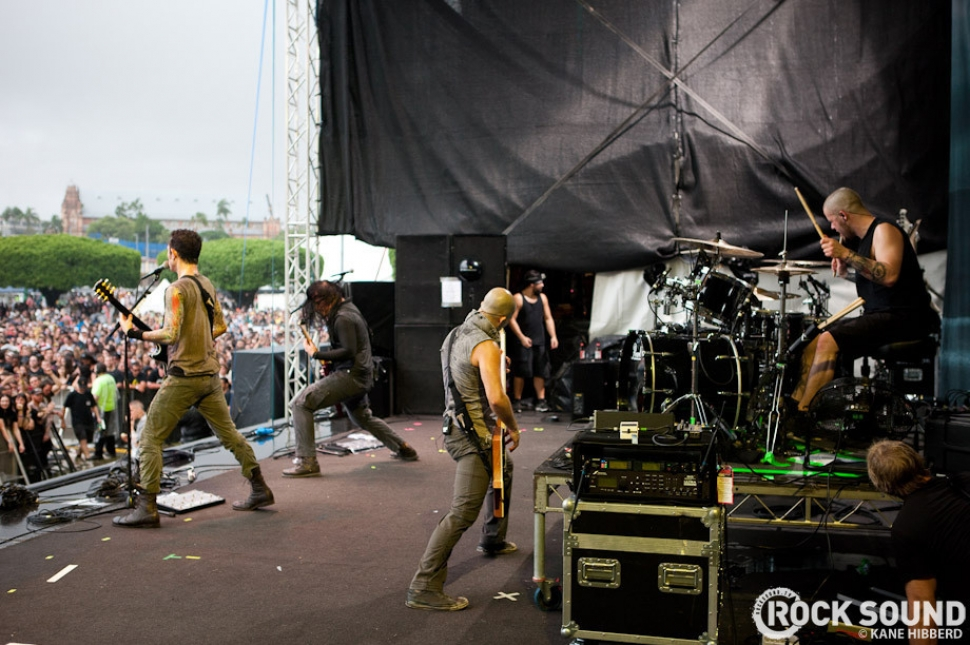 Soundwave 2012 Live And Loud: Trivium